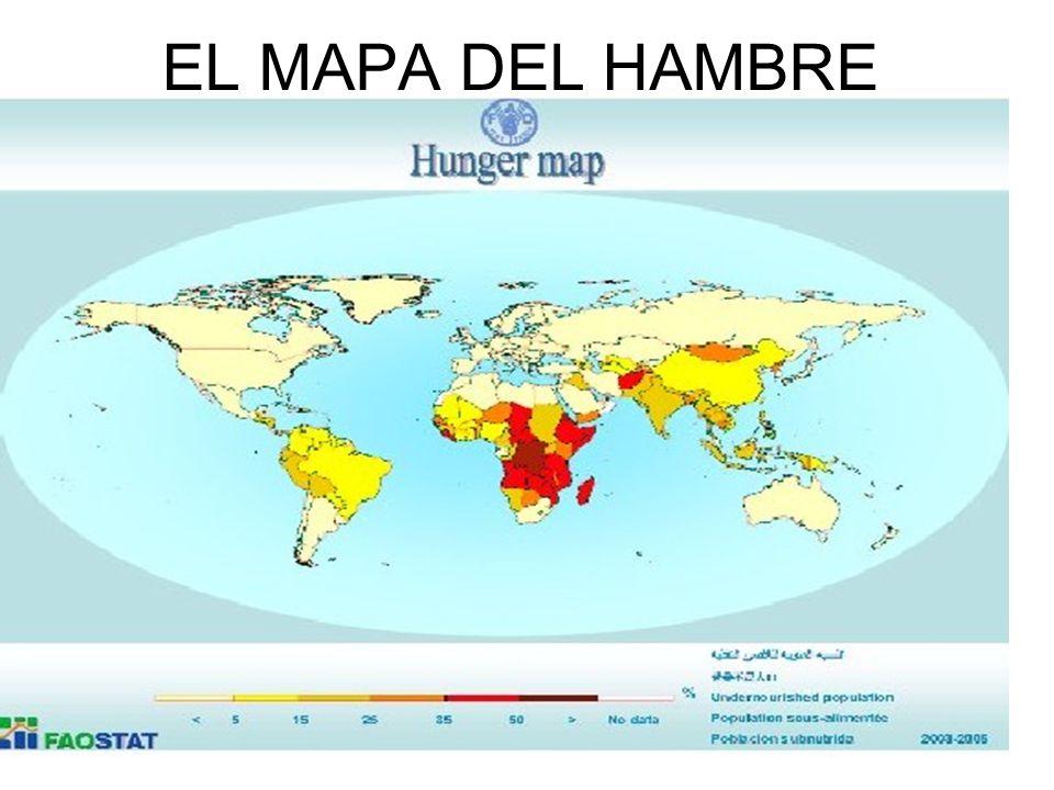 EL MAPA DEL HAMBRE