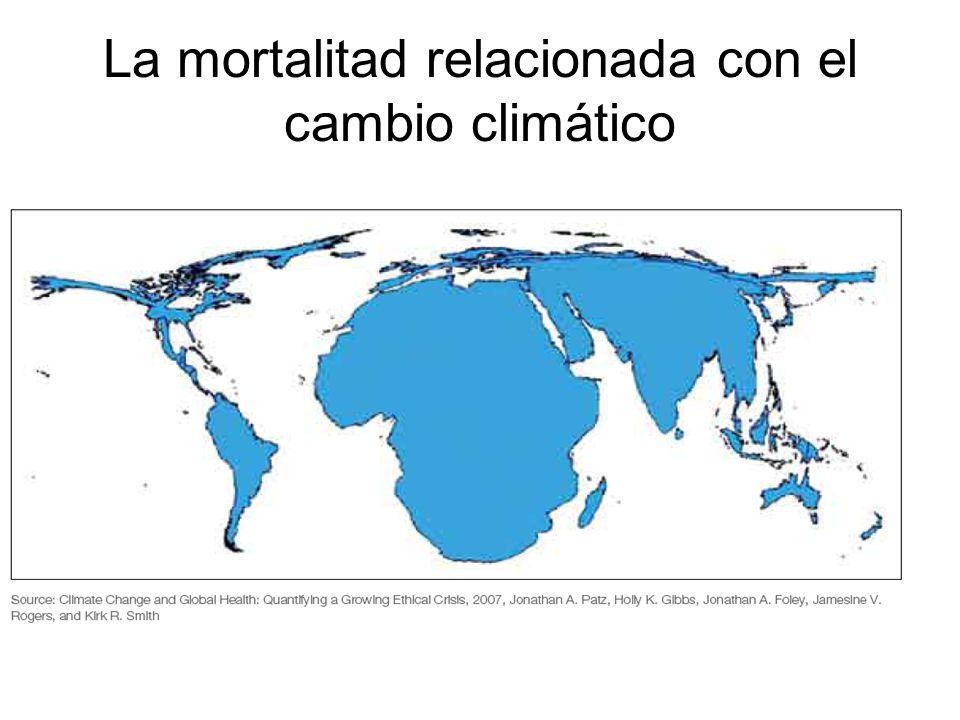 La mortalitad relacionada con el cambio climático