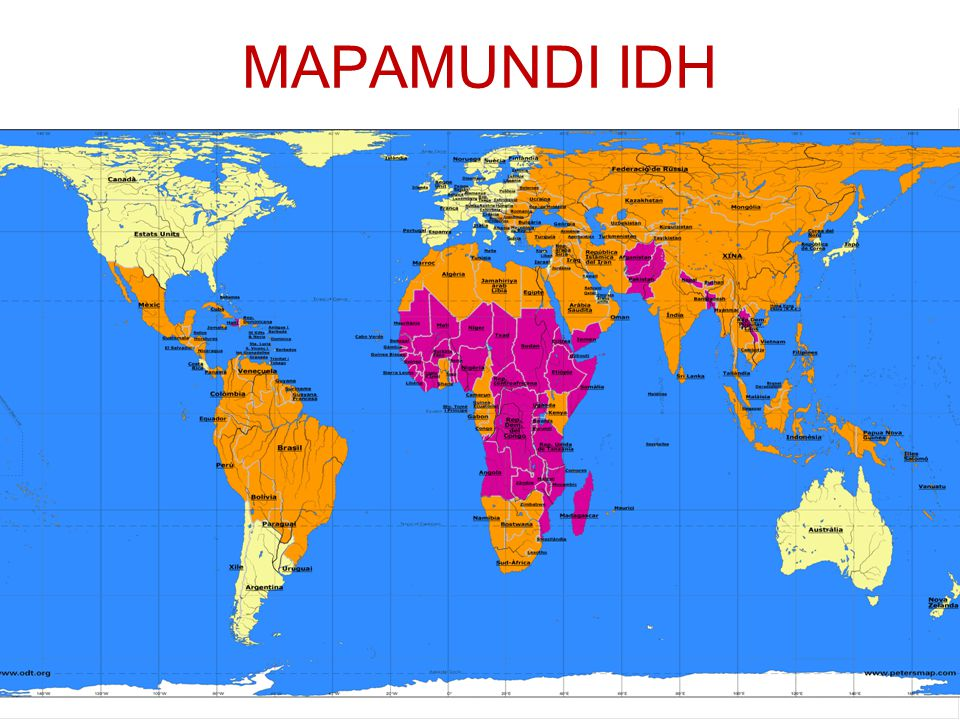 MAPAMUNDI IDH