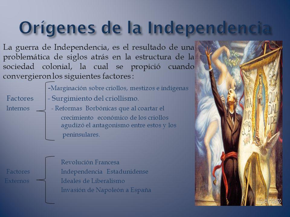 Orígenes de la Independencia