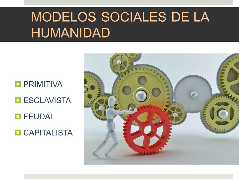 MODELOS SOCIALES DE LA HUMANIDAD