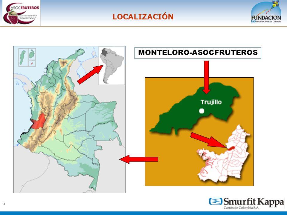 LOCALIZACIÓN MONTELORO-ASOCFRUTEROS