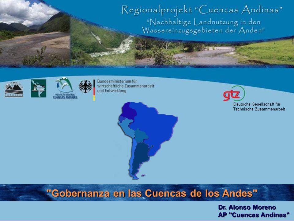 Gobernanza en las Cuencas de los Andes