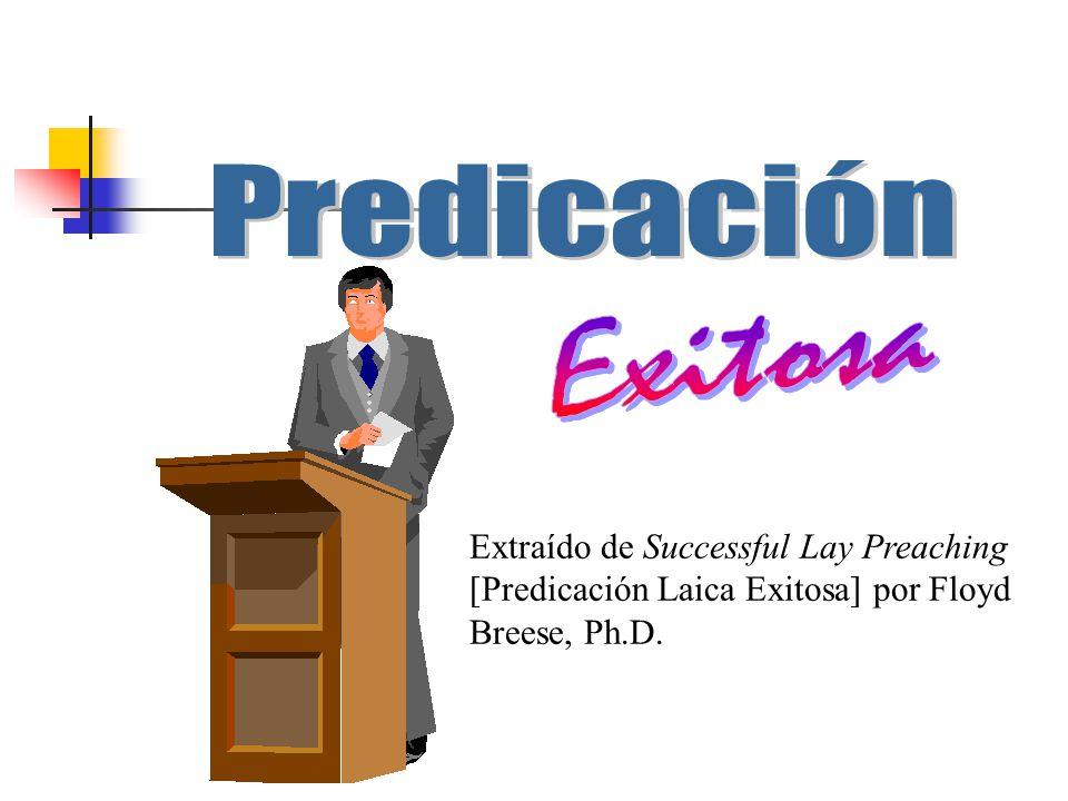Predicación Exitosa.
