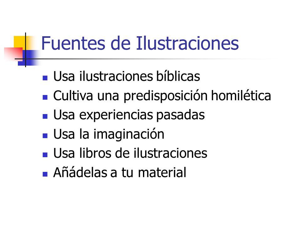 Fuentes de Ilustraciones