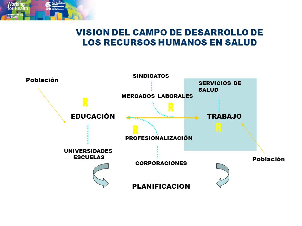 VISION DEL CAMPO DE DESARROLLO DE LOS RECURSOS HUMANOS EN SALUD