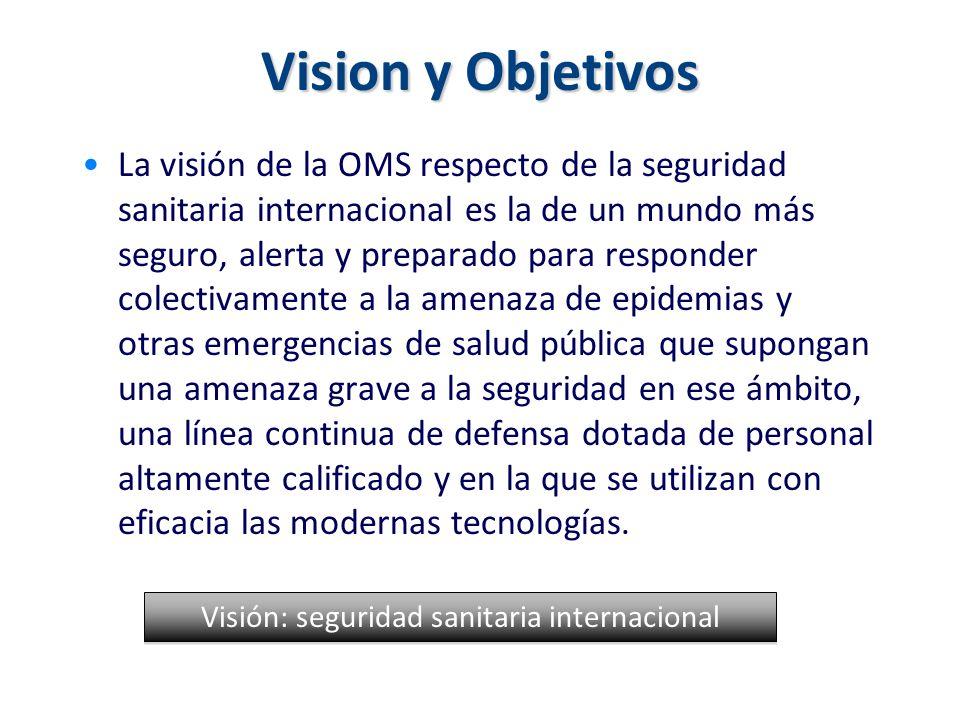 Visión: seguridad sanitaria internacional