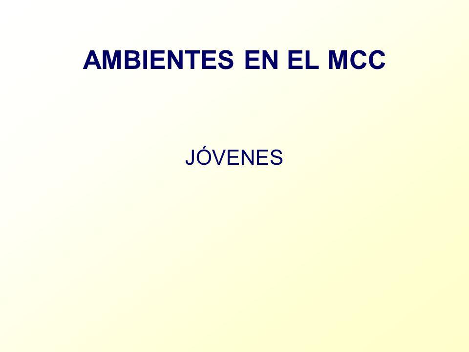 AMBIENTES EN EL MCC JÓVENES