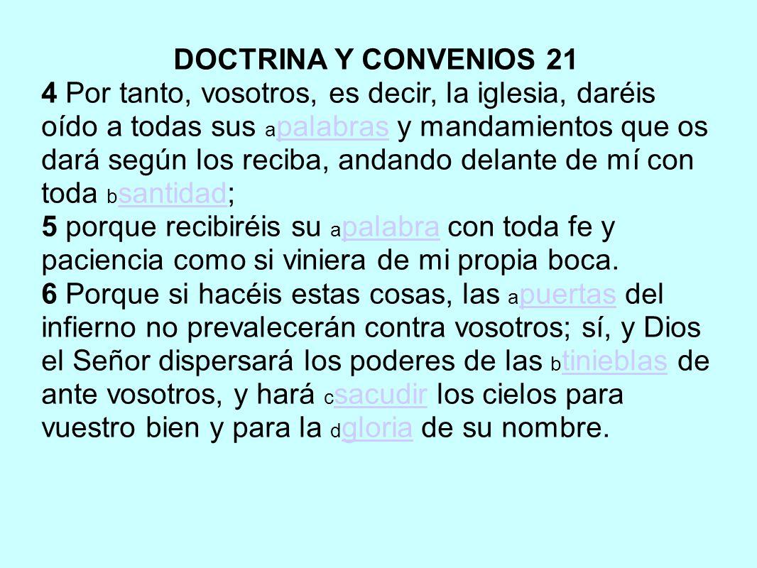 DOCTRINA Y CONVENIOS 21