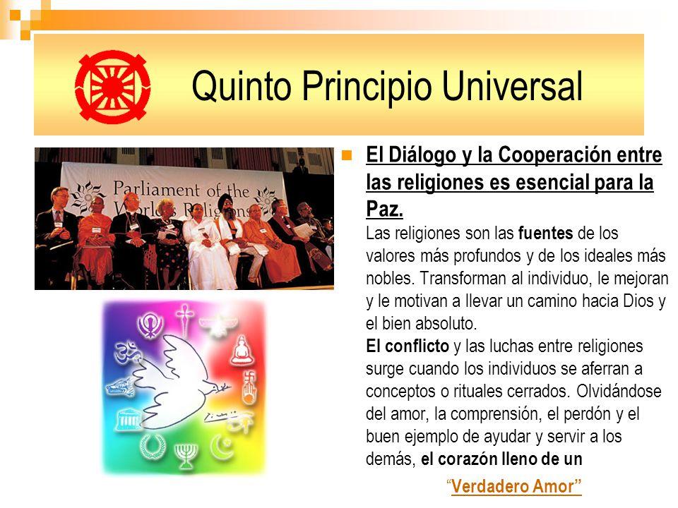 Quinto Principio Universal