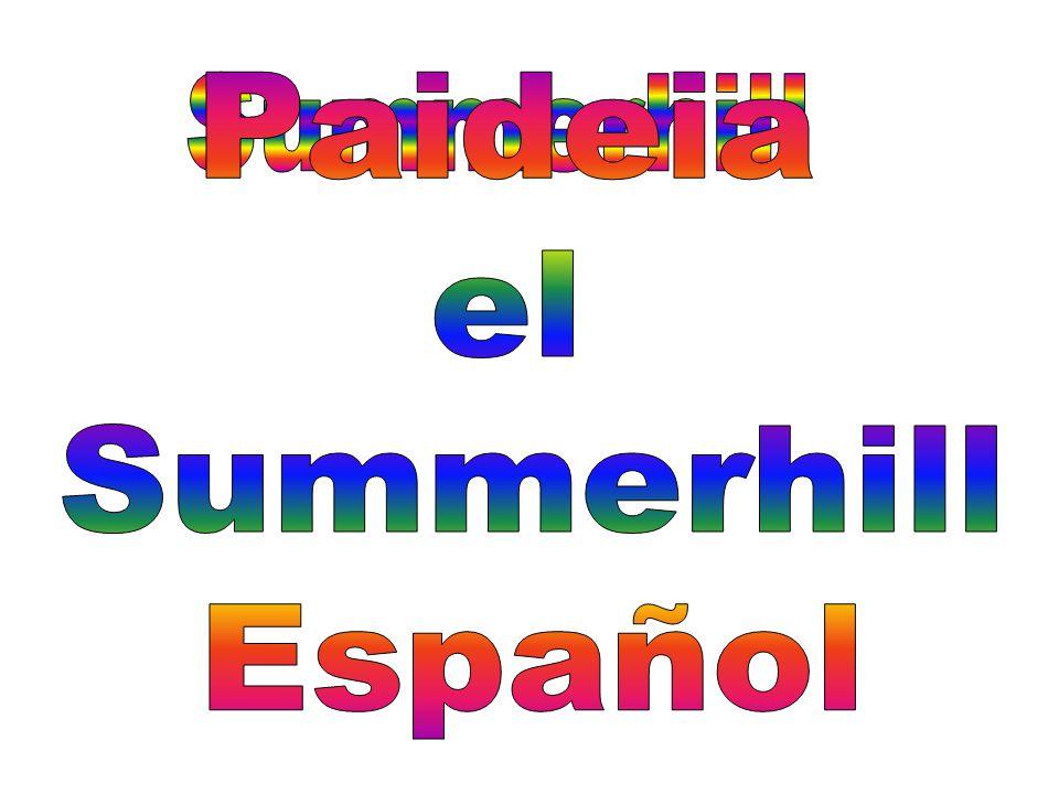 Paideia el Summerhill Español Summerhill