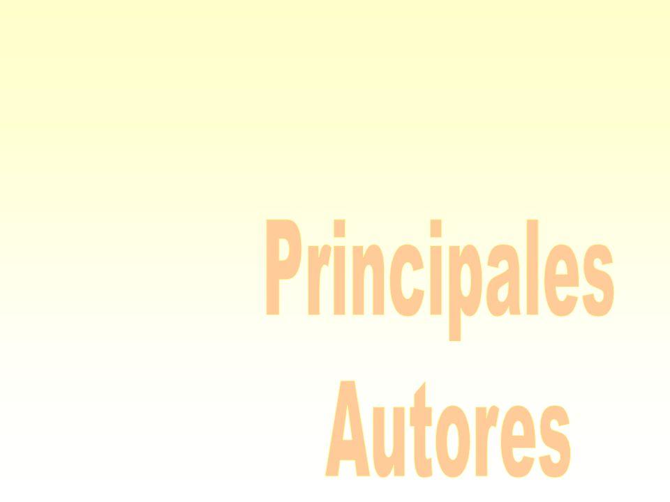 Principales Autores