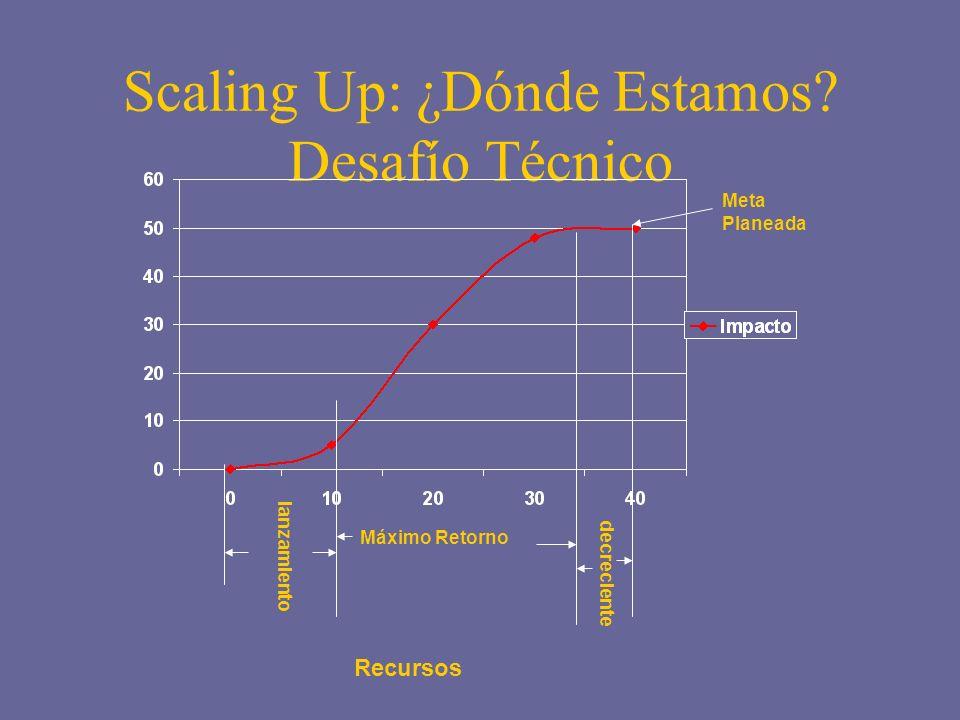 Scaling Up: ¿Dónde Estamos Desafío Técnico