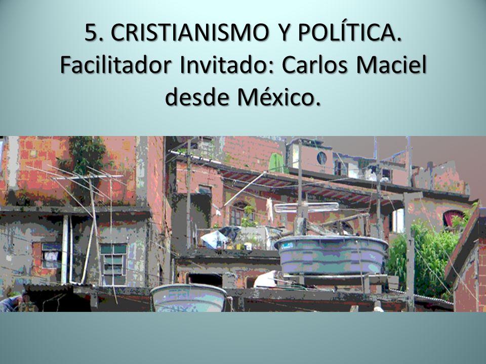 5. CRISTIANISMO Y POLÍTICA