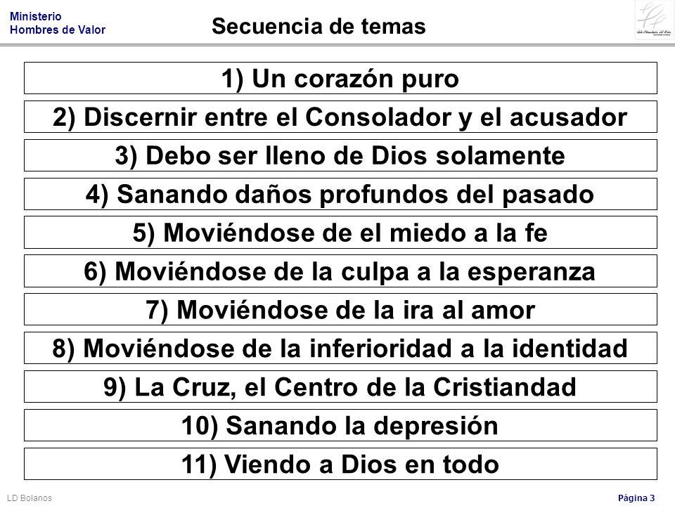 2) Discernir entre el Consolador y el acusador