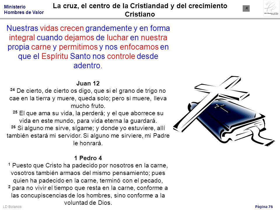 La cruz, el centro de la Cristiandad y del crecimiento Cristiano