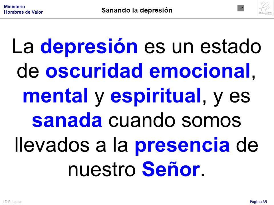 Sanando la depresión R.