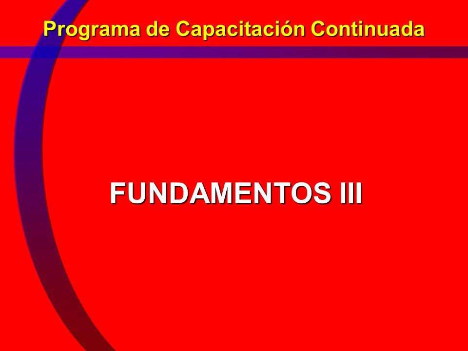 Programa de Capacitación Continuada