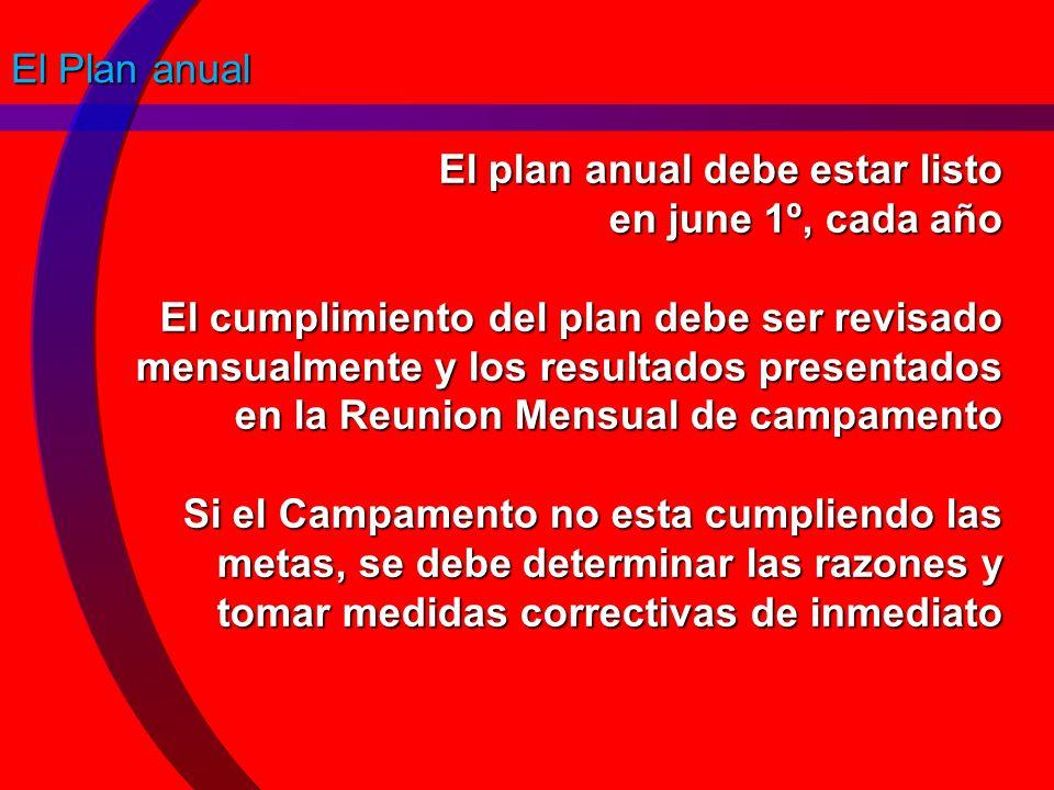 El Plan anual