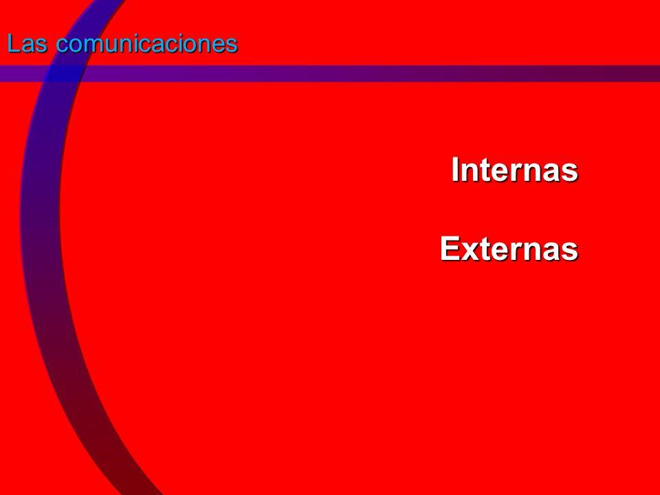 Las comunicaciones Internas Externas