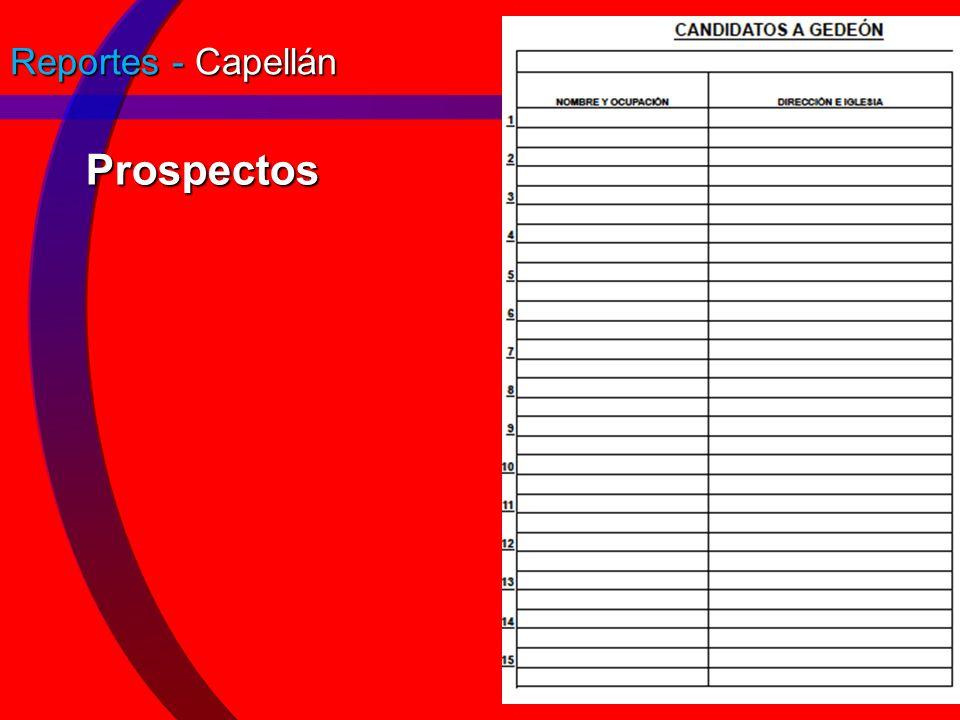 Reportes - Capellán Prospectos