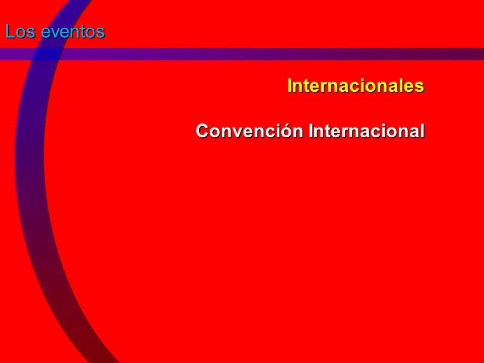 Internacionales Convención Internacional