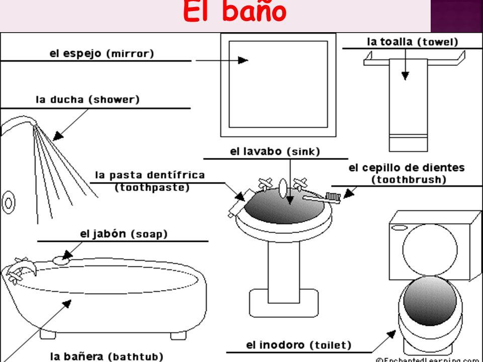 El baño El baño