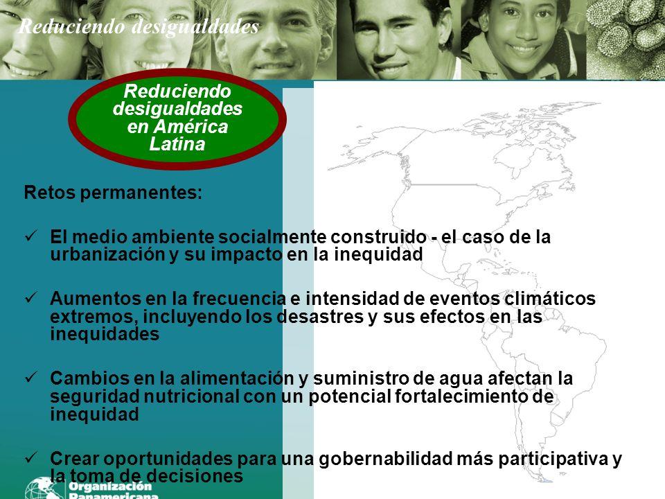 Reduciendo desigualdades en América Latina