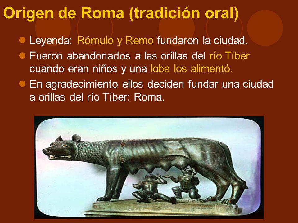 Origen de Roma (tradición oral)