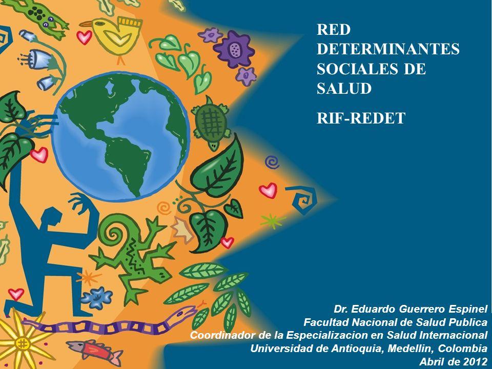 DETERMINANTES SOCIALES DE LA SALUD: