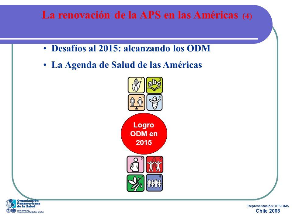La renovación de la APS en las Américas (4) Representación OPS/OMS