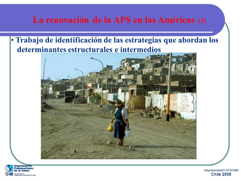 La renovación de la APS en las Américas (3) Representación OPS/OMS