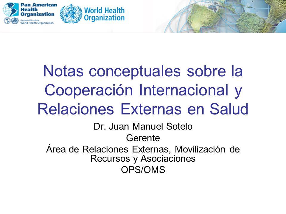 Área de Relaciones Externas, Movilización de Recursos y Asociaciones