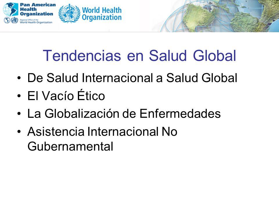 Tendencias en Salud Global