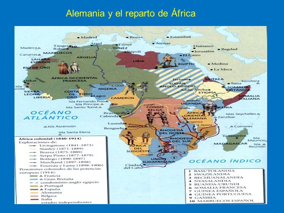 Alemania y el reparto de África