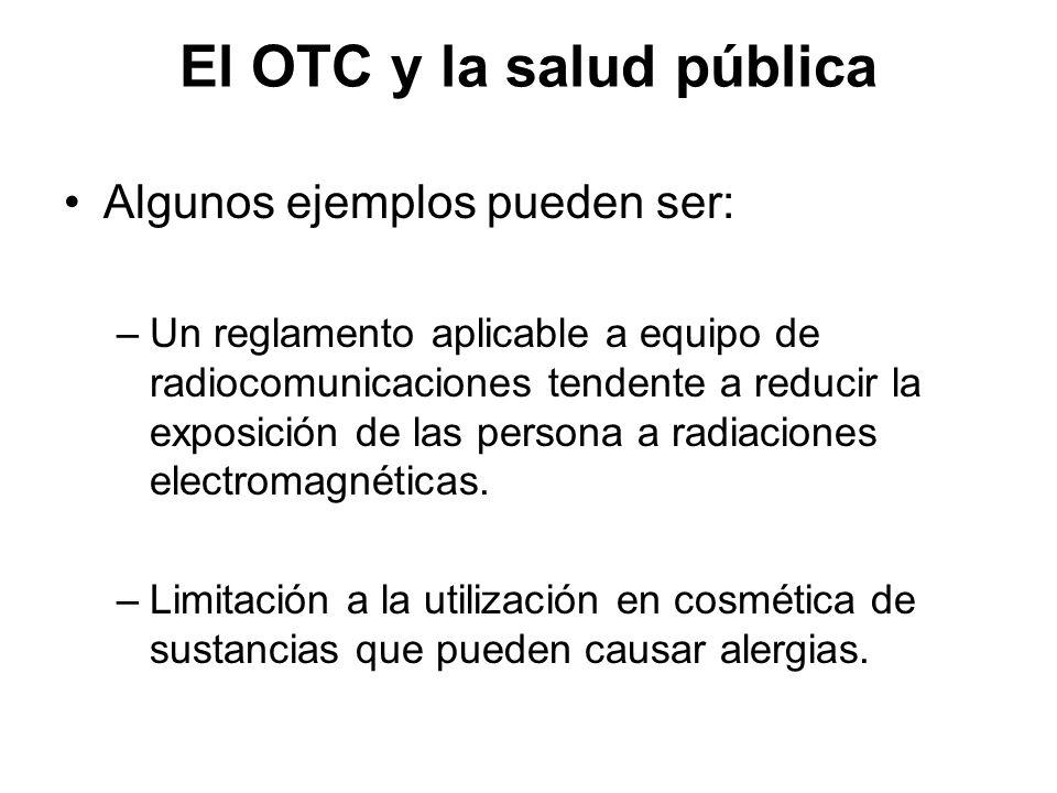 El OTC y la salud pública