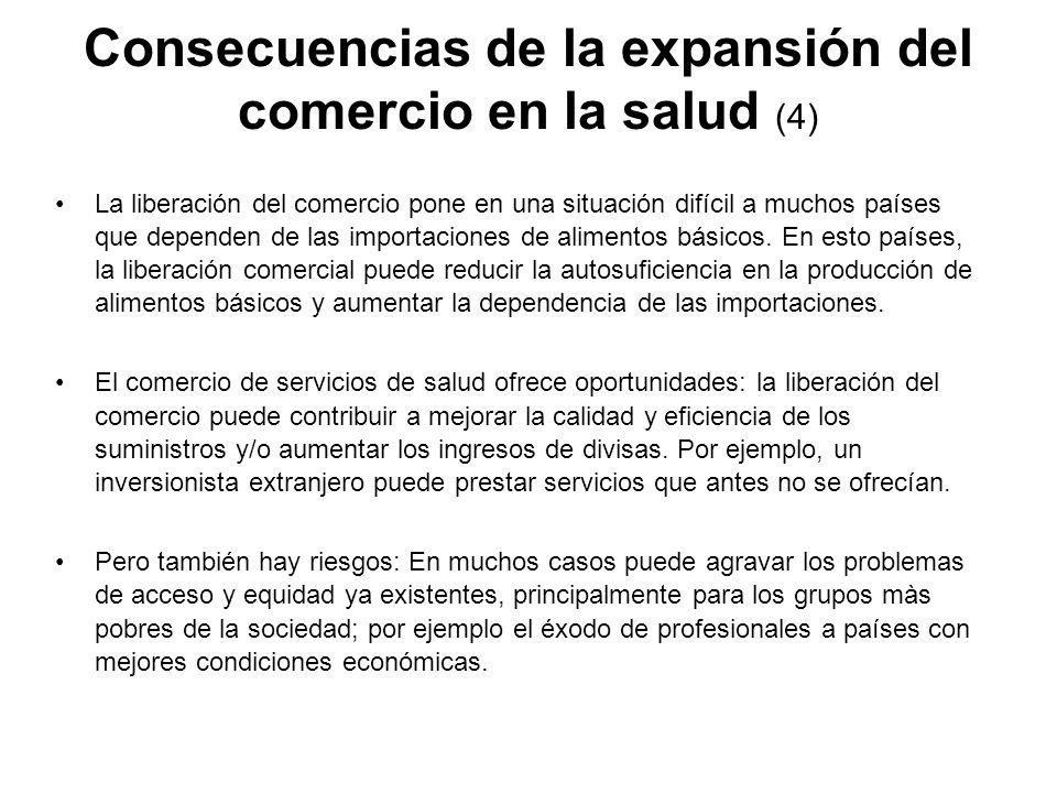 Consecuencias de la expansión del comercio en la salud (4)