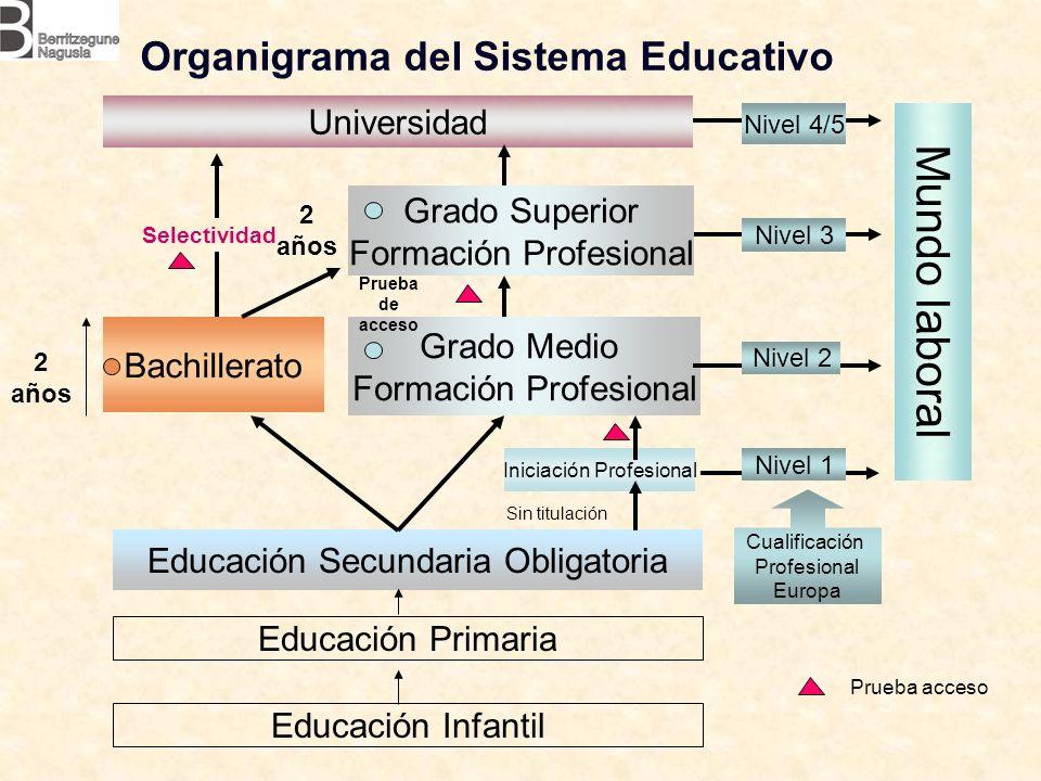 Organigrama del Sistema Educativo