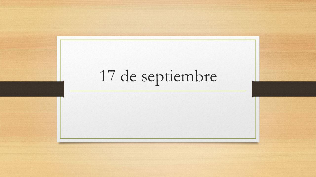 17 de septiembre