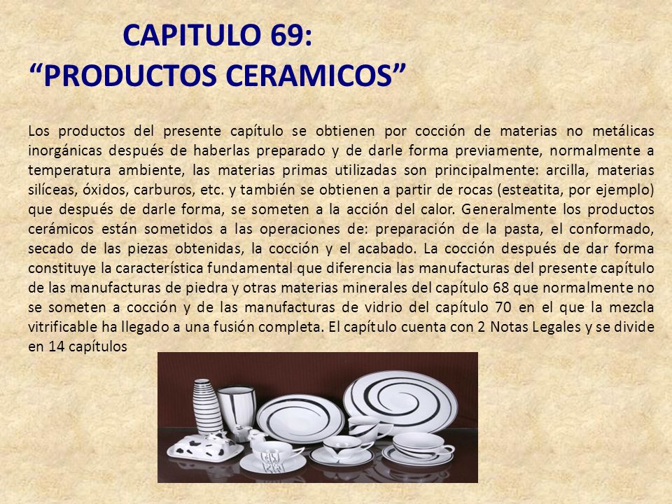 PRODUCTOS CERAMICOS