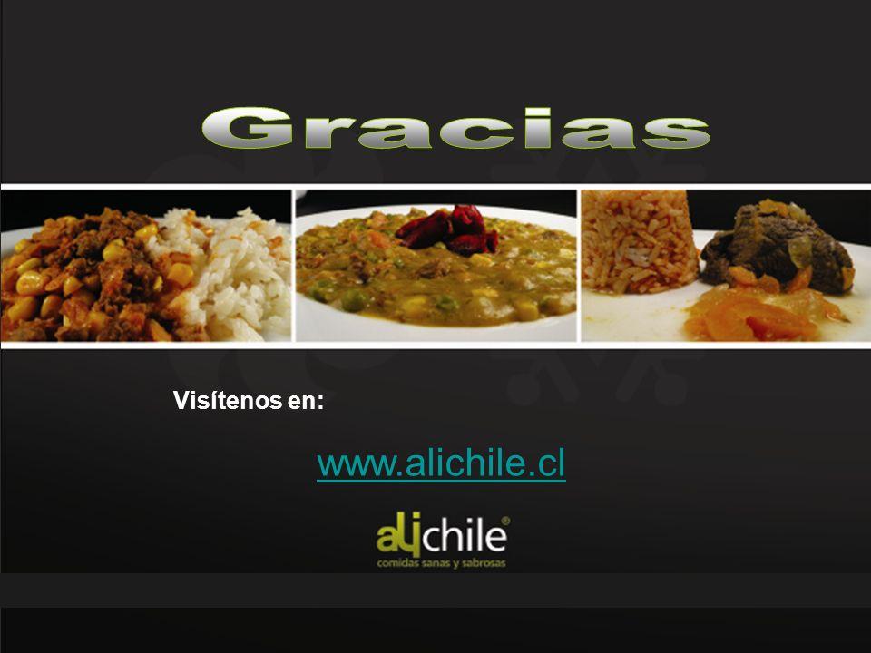 CALIDAD NUTRICIONAL Visítenos en: www.alichile.cl Gracias