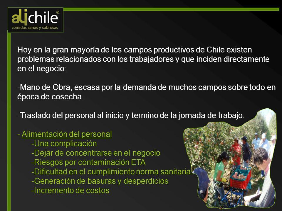 Hoy en la gran mayoría de los campos productivos de Chile existen problemas relacionados con los trabajadores y que inciden directamente en el negocio: