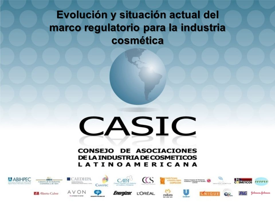 Evolución y situación actual del marco regulatorio para la industria cosmética