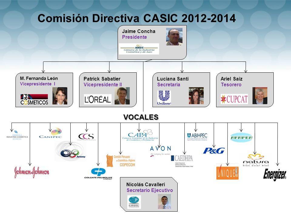 Comisión Directiva CASIC 2012-2014