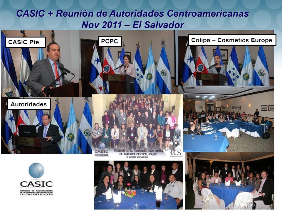 CASIC + Reunión de Autoridades Centroamericanas