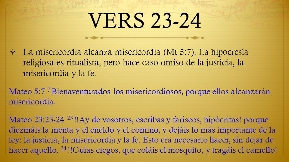 VERS 23-24