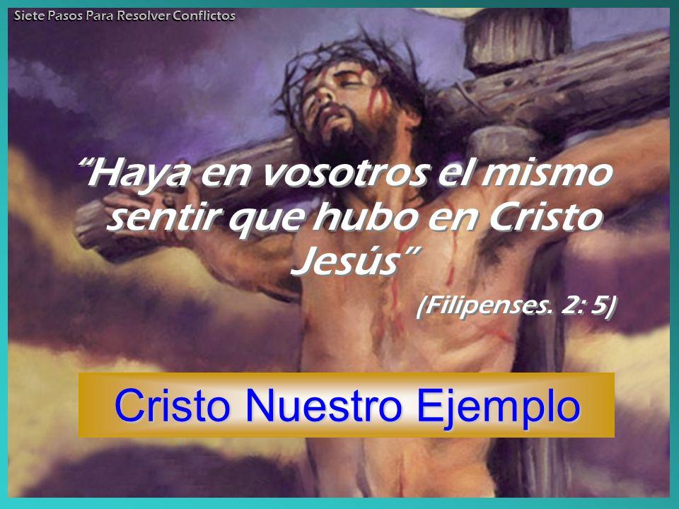 Cristo Nuestro Ejemplo