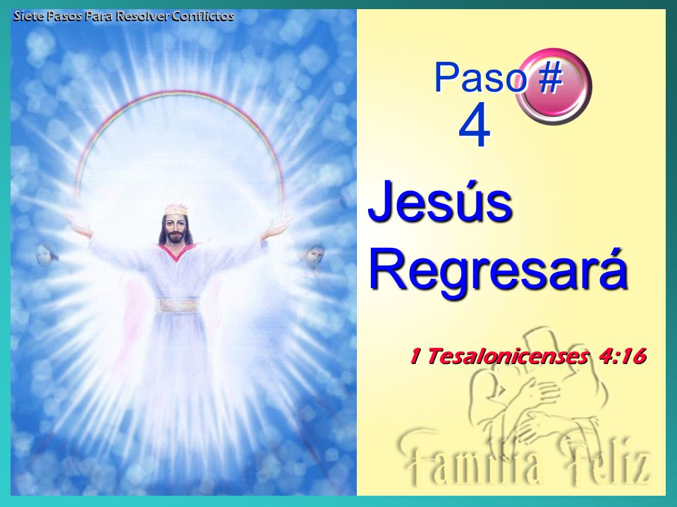 Jesús Regresará Paso # 4 1 Tesalonicenses 4:16