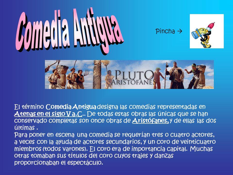 Comedia Antigua Pincha 