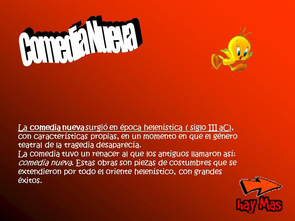 Comedia Nueva .